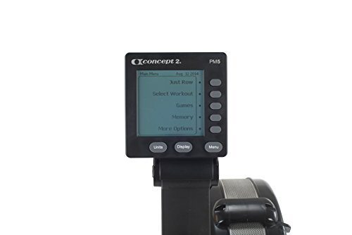 Rowing Machine Feature Console Panel